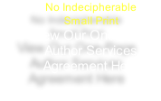 No Indecipherable 